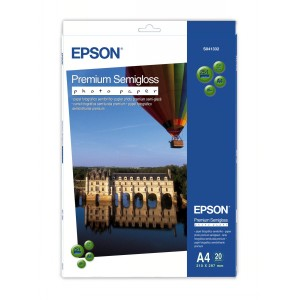 Epson Semiglossy Photo Papier 20 Blatt C13S041332