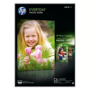 HP Fotopapier glossy 100 Blatt Q2510A