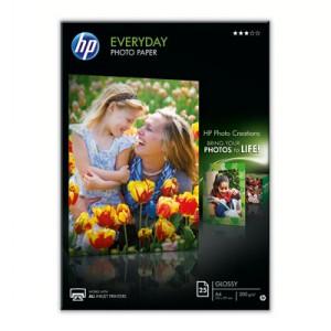 HP Semiglossy Photo Papier 25 Blatt Q5451A